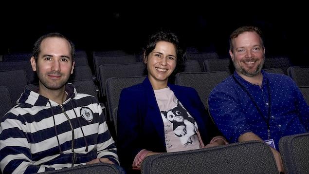 Damien Detcheberry, Helen Faradji et Jean-Francois Lamarche