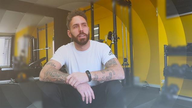 Michael Couture, propriétaire de Mon gym privé