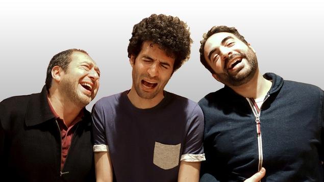 Patrick Timsit, Alex Fredo et Wary Nichen sont morts de rire après l'enregistrement de l'émission des <i>Petites anecdotes</i>