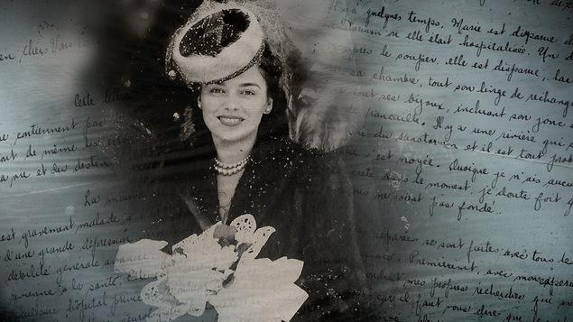 La photo de Marie-Paule Rochette retrouvée dans la malette noire, aux côtés des fameuses lettres bleues