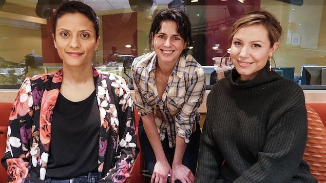Noémi Mercier, Helen Faradji e tMagalie Lépine-Blondeau