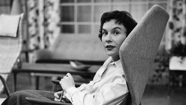 Françoise Faucher en 1955
