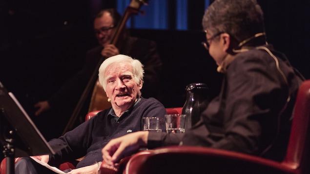 Gilles Archambault et Stanley Péan