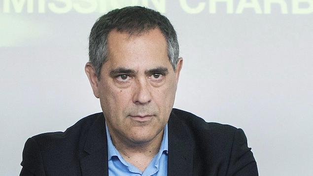 Gilles Ouimet en novembre 2016