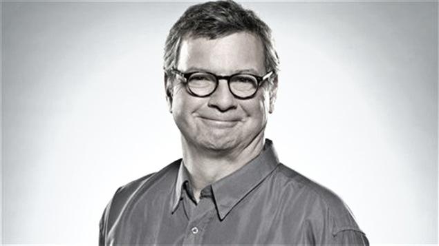 L'animateur Jacques Bertrand