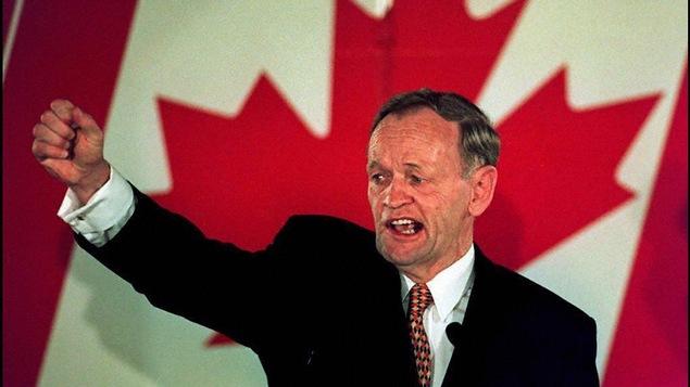 Jean Chrétien a été réélu premier ministre du Canada le 2 juin 1997, à Shawinigan.