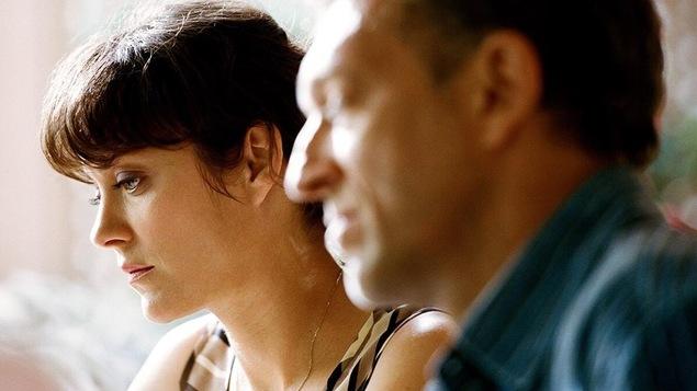 Marion Cotillard et Vincent Cassel dans une scène de Juste la fin du monde de Xavier Dolan