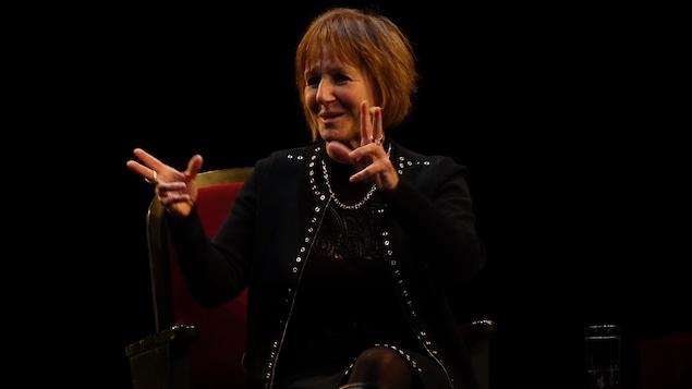 Lorraine Pintal en conférence au TNM