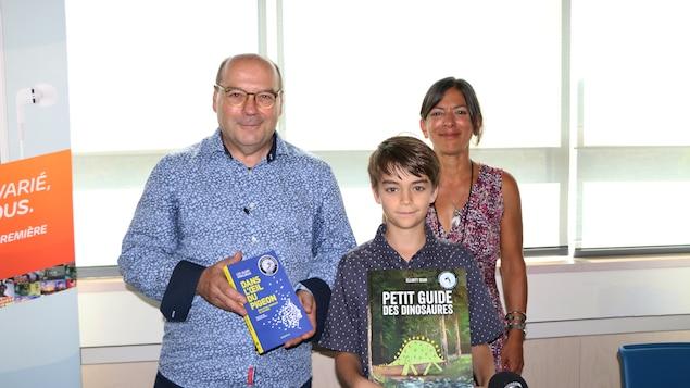 Luc-Alain Giraldeau, Elliott Seah et Chantal Srivastava