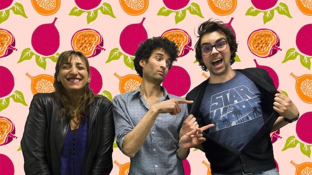Florence K, Alex Fredo et Jérémie Larouche
