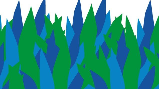 Le logo de la conférence publique Le balado québécois : état des lieux