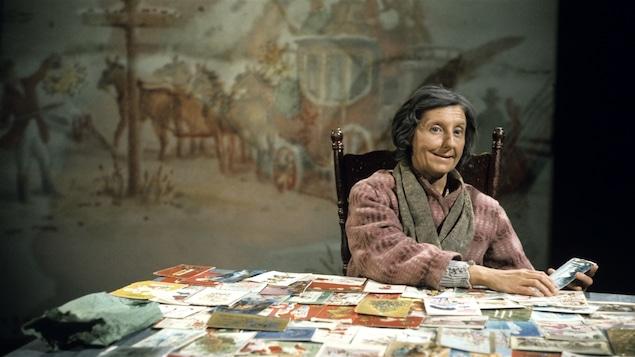 Viola Léger en 1975