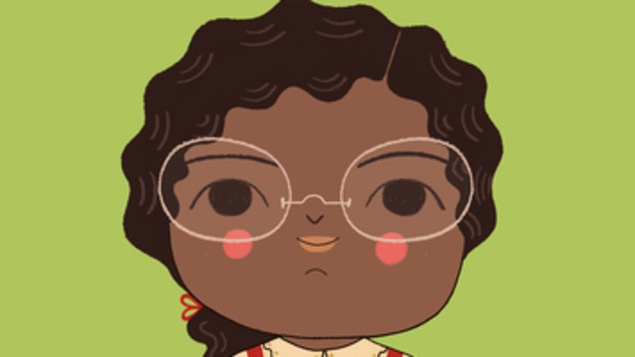 La couverture présente une image de Rosa Parks petite.