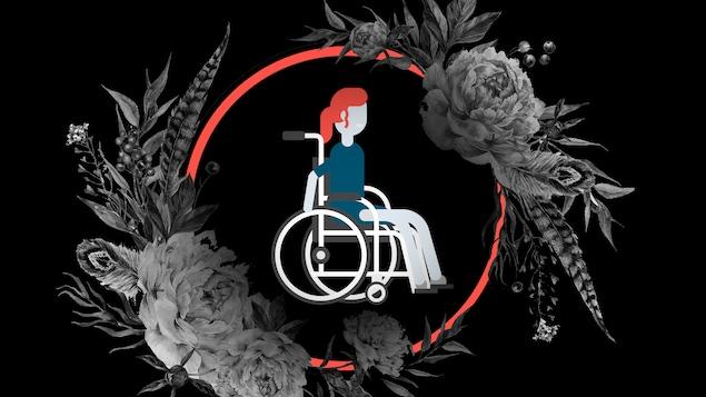 Maxime D.0Pomerleau a le syndrome McCune–Albright, ce qui l'oblige à se déplacer en fauteuil roulant.