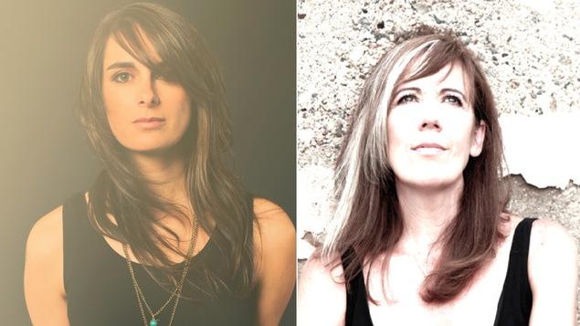 2 femmes aux cheveux longs
