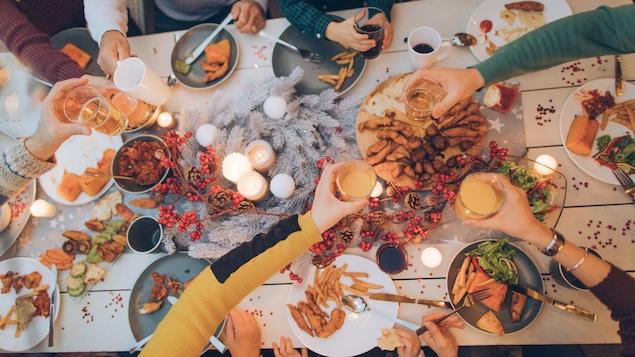 Un repas entre amis