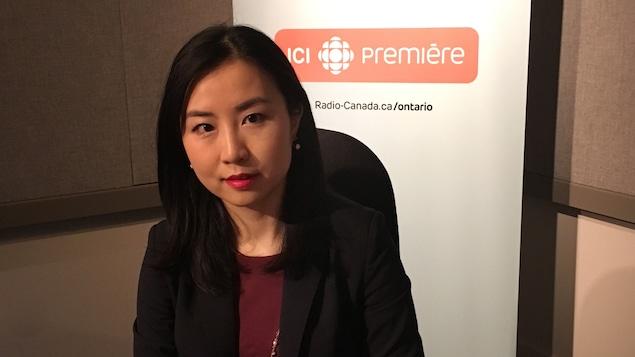 Stephanie Lin, gestionnaire des services d'achats à la Banque Royale