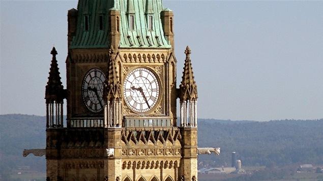 La Tour de la Paix du parlement du Canada, à Ottawa
