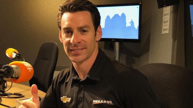 Le pilote automobile Simon Pagenaud.