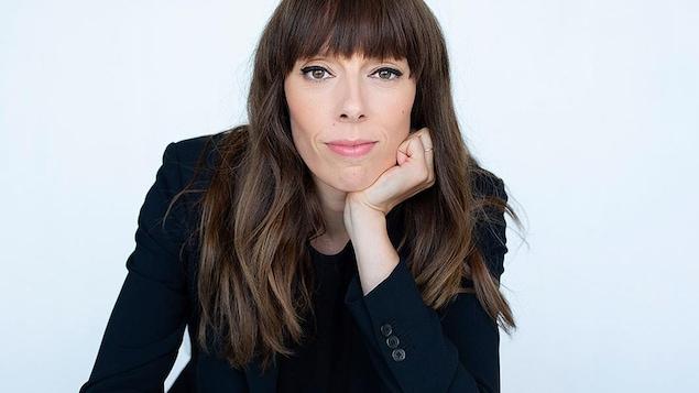L'autrice et scénariste Marie-Andrée Labbé.