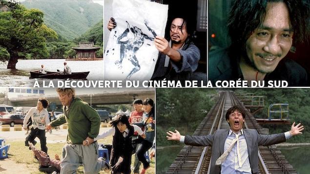 5 images de films sud-coréens