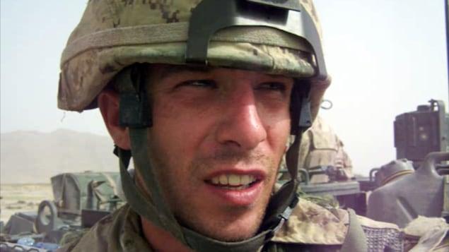 Collin Fitzgerald en Afghanistan
