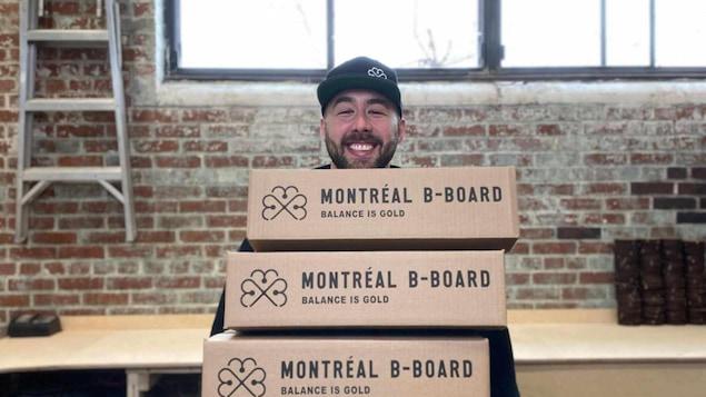 Nicolas Loiselle de chez Montréal B-Board.