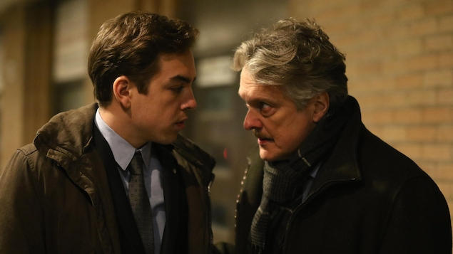 Antoine Pilon et Normand D'amour.