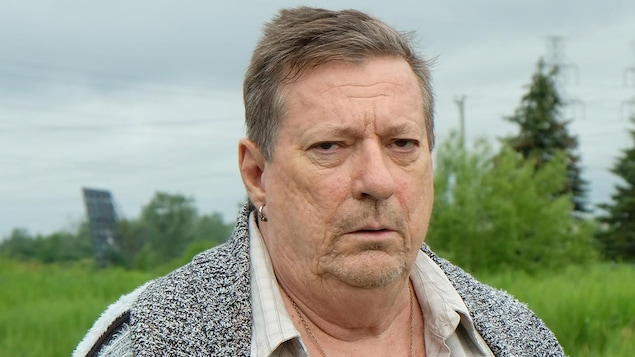 Jean-Pierre Bergeron dans le rôle de Yvan-Gilles Savard