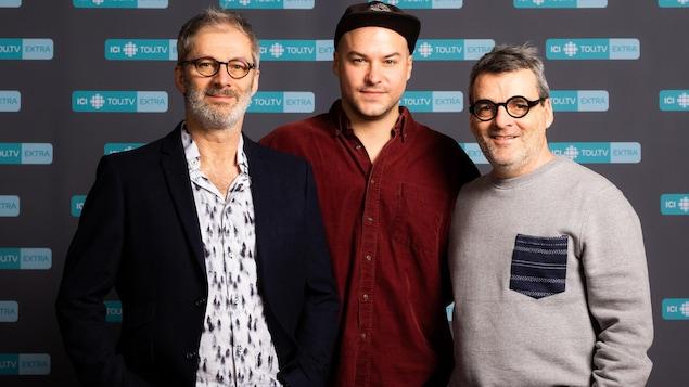 Claude Desrosiers, Marc-André Grondin et Serge Boucher