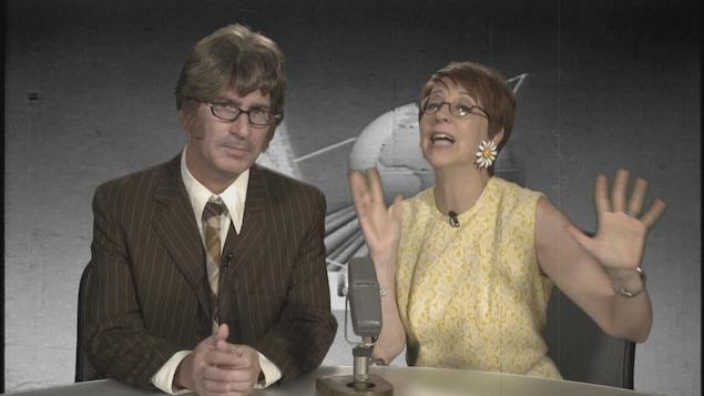 Duo comique des années 60.