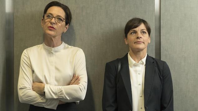 Marie-France Lambert et Sophie Cadieux.