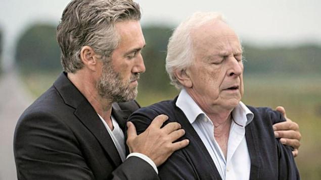 Roy Dupuis et Marcel Sabourin