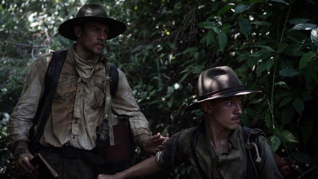 Les deux explorateurs dans la jungle