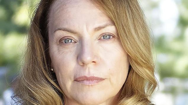 La comédienne dans son rôle d,Anna dans Le monstre.