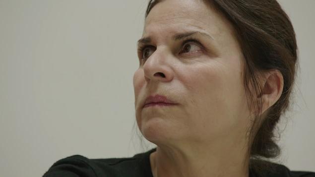 Guylaine Tremblay dans son rôle de Marie Lamontagne dans « Unité 9 »