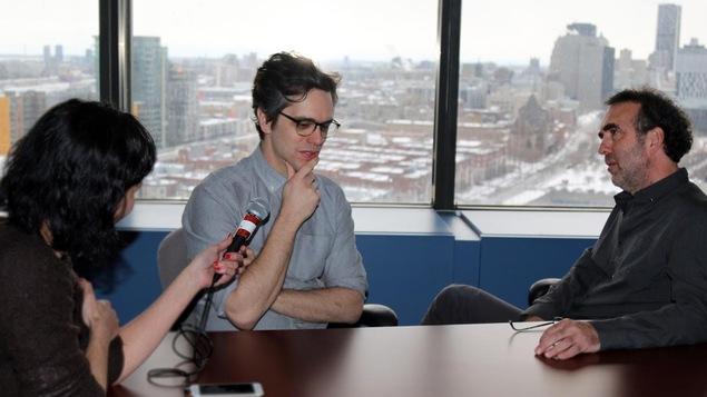 A l'approche du Festival de Berlin, les deux cinéastes québécois parlent engagement et cinéma.