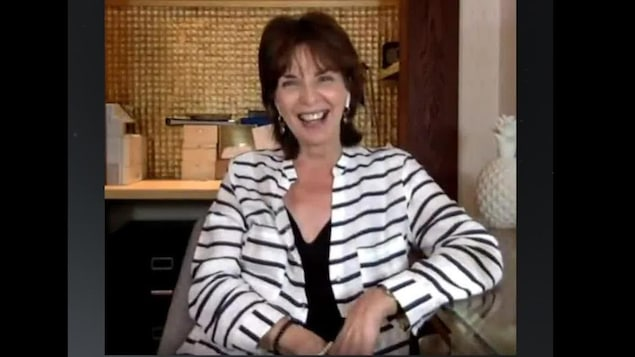 Micheline Bernard en entrevue par Skype