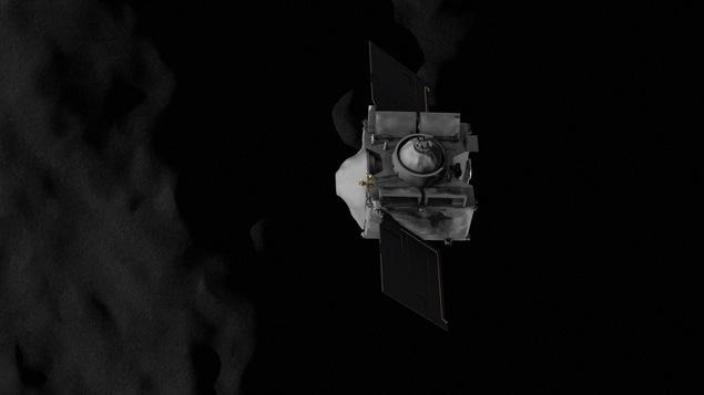 La sonde OSIRIS-REx s'apprête à récolter un échantillon d'astéroïde pour le ramener sur Terre