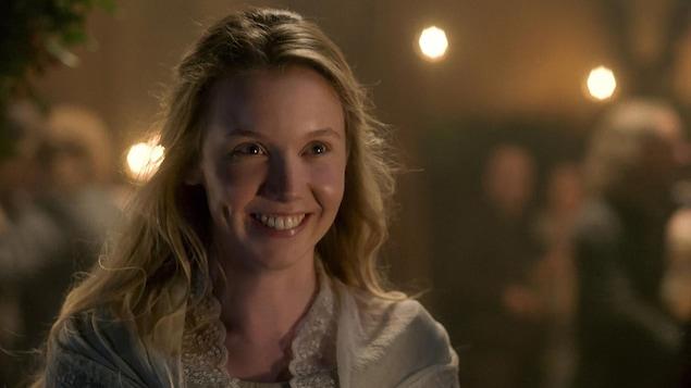 Marsali Fraser, souriante.