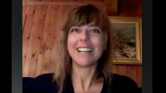 Sophie Deraspe en entrevue par Skype.
