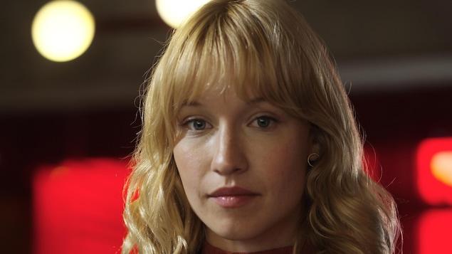 La comédienne dans son rôle de sophie dans la série Le Monstre.