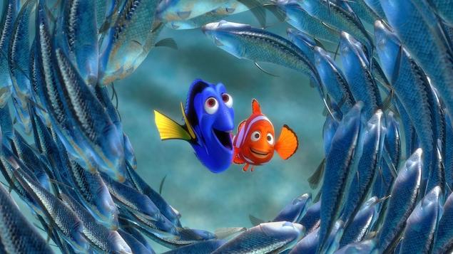 Le papa de Nemo et Dory