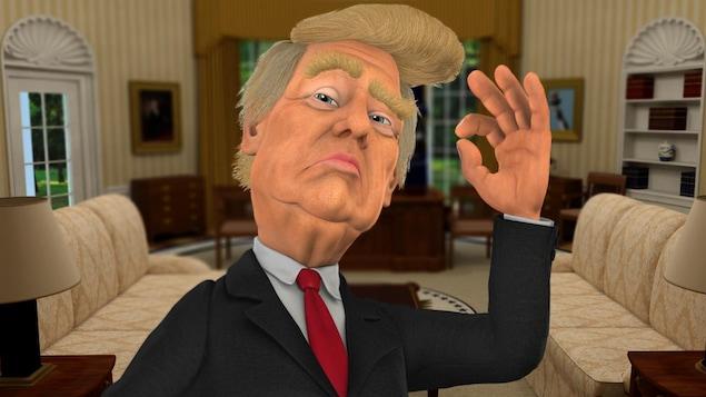 Donald Trump, version Laflaque