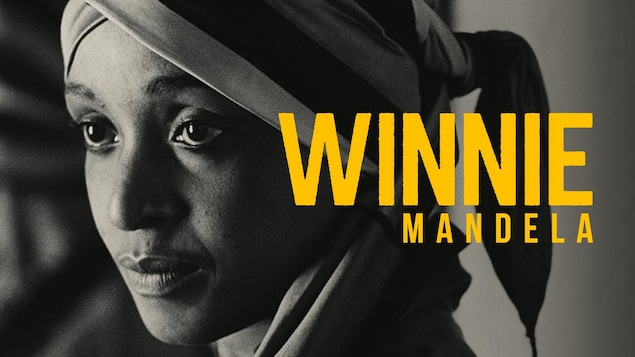 L'affiche du documentaire consacré à Winnie Mandela.