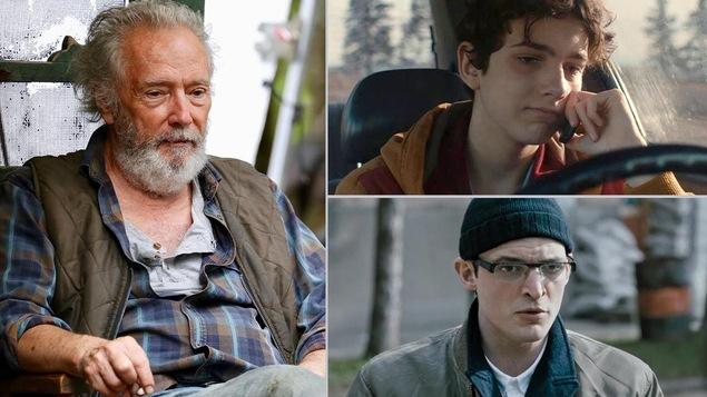 3 coups de coeur masculins au prochain Gala Québec Cinéma (Gilbert Sicotte, Justin Leyrolles-Bouchard et Niels Schneider)
