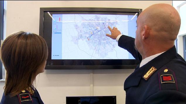 Certaines organisations policières se servent des algorithmes pour tenter de prédire où seront commis les prochains crimes.