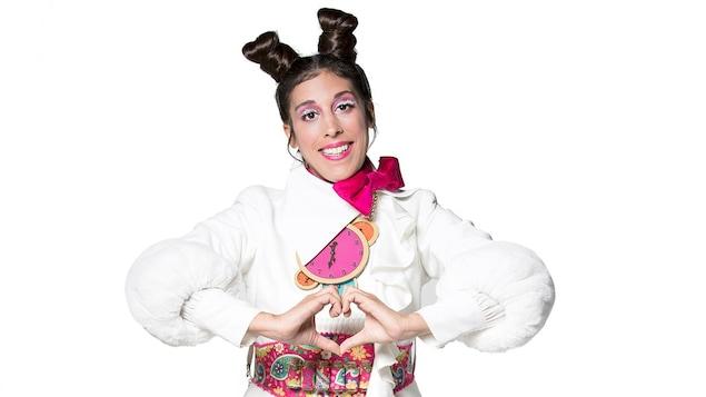 La comédienne joue le rôle de Lapin, la maman d'Alix
