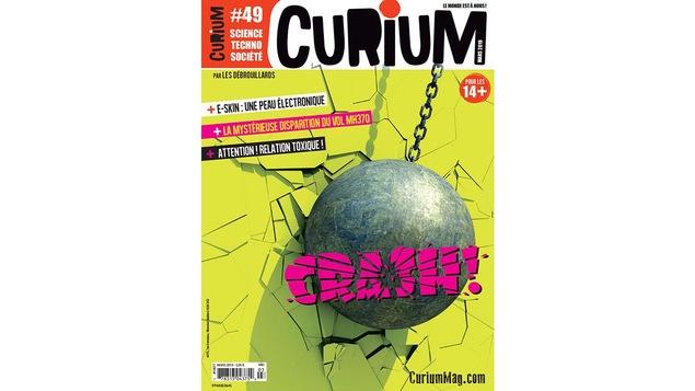 Page couverture du magazine Curium.