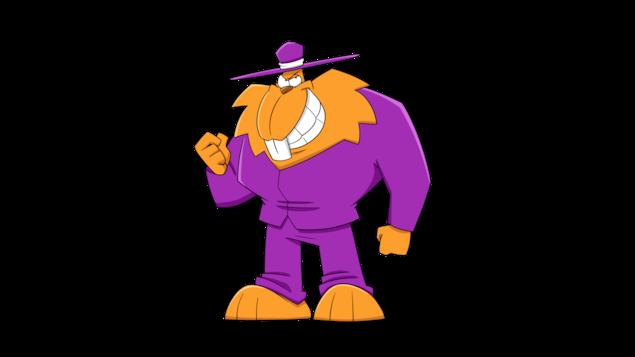 Le Castor Le Castor est le vilain absolu, il est le chef d'orchestre du mal. Plusieurs vilains et une vilaine travaillent pour lui, directement ou indirectement. En fait, il dirait même que tout le monde travaille pour lui sans le savoir…